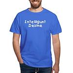 Intelligunt Desine Black T-Shirt