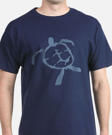 Hawaiian Turtle - Colors T-Shirt