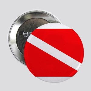 "Diver Down Flag 2.25"" Button"