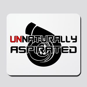 Unnaturally Aspirated Mousepad