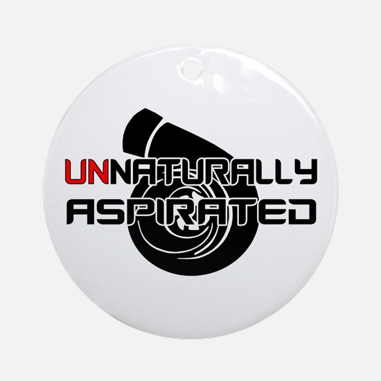 Unnaturally Aspirated Ornament (Round)