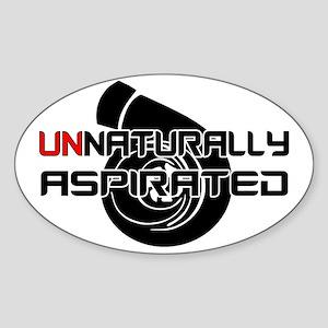 Unnaturally Aspirated Sticker (Oval)