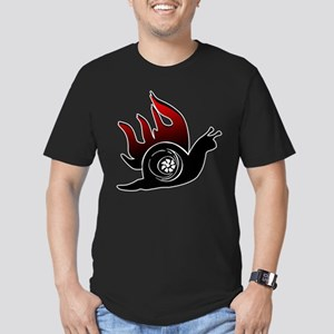 Boost Snail Men's Fitted T-Shirt (dark)