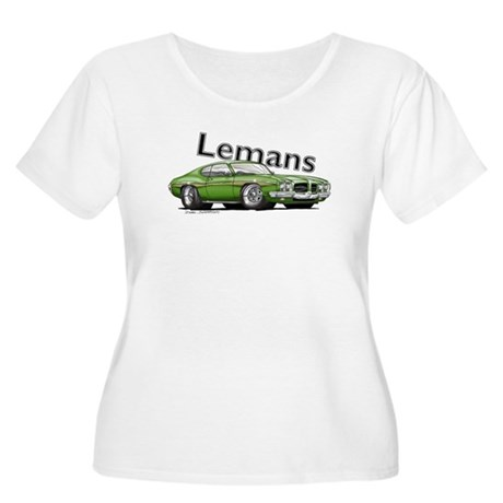 Green Pontiac Lemans Women's Plus Size Scoop Neck