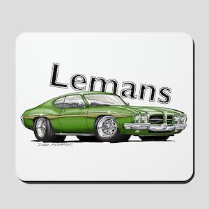 Green Pontiac Lemans Mousepad