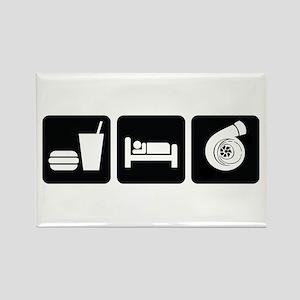 Eat Sleep Boost Rectangle Magnet