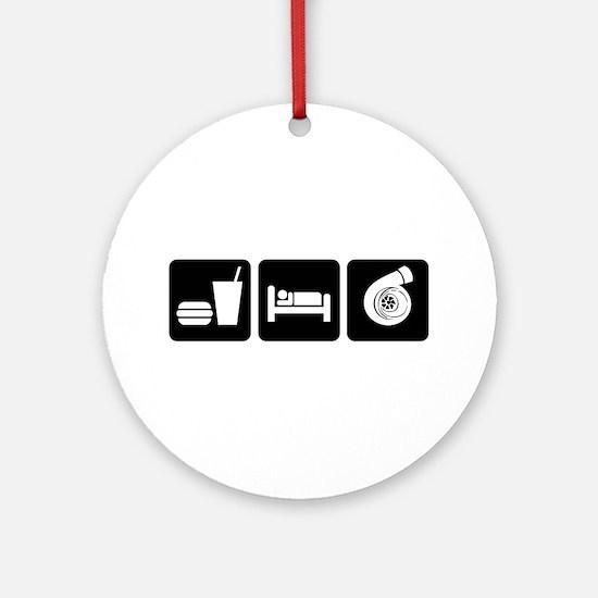Eat Sleep Boost Ornament (Round)