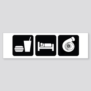 Eat Sleep Boost Sticker (Bumper)