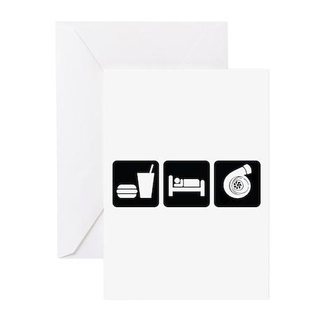Eat Sleep Boost Greeting Cards (Pk of 20)