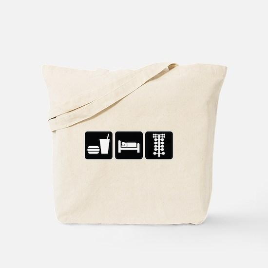 Eat Sleep Drag Tote Bag