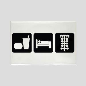 Eat Sleep Drag Rectangle Magnet