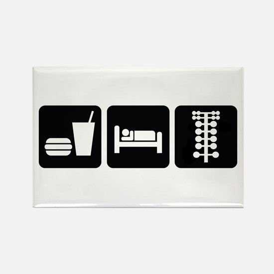 Eat Sleep Drag Rectangle Magnet