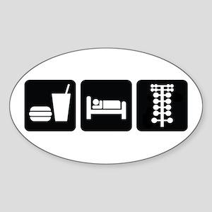 Eat Sleep Drag Sticker (Oval)