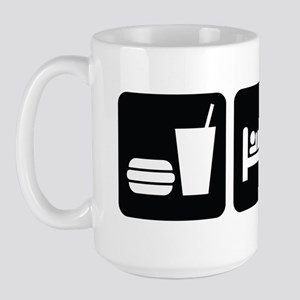 Eat Sleep Drag Large Mug