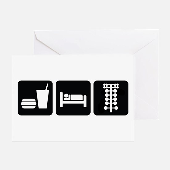 Eat Sleep Drag Greeting Card