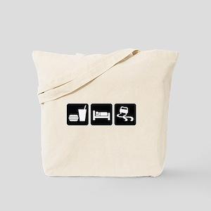 Eat Sleep Drift Tote Bag