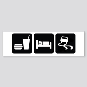 Eat Sleep Drift Sticker (Bumper)