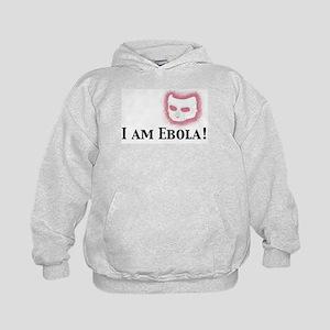 I am Ebola Kids Hoodie