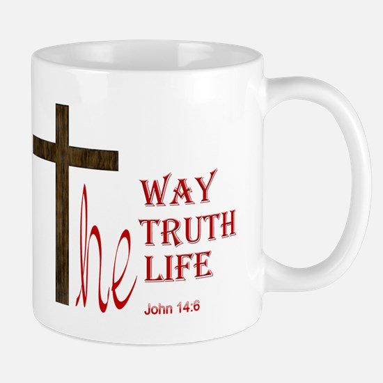 Funny Jesus the way and the truth and the life Mug
