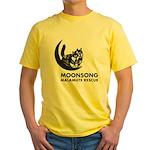 Moonsong Malamute Rescue Yellow T-Shirt