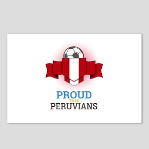 Football Peruvians Peru S Postcards (Package of 8)