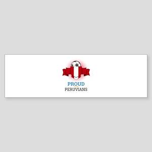 Football Peruvians Peru Soccer Team Bumper Sticker