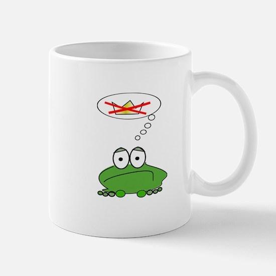 Sad Frog Prince Mug