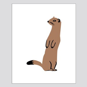 Ermine - Weasel Small Poster