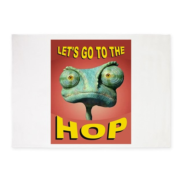 FROG HOP 5'x7'Area Rug By FROG