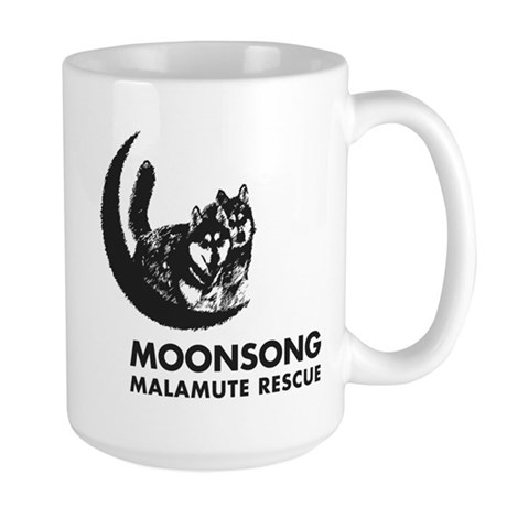 Moonsong Malamute Rescue Large Mug