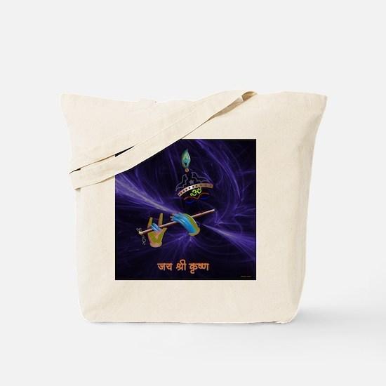 Krishna - The Flute Player Tote Bag