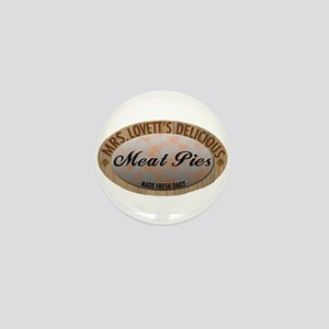 Mrs. Lovett's Famous Meat Pie Mini Button