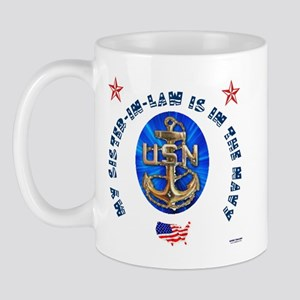 Navy Sister-in-Law Mug