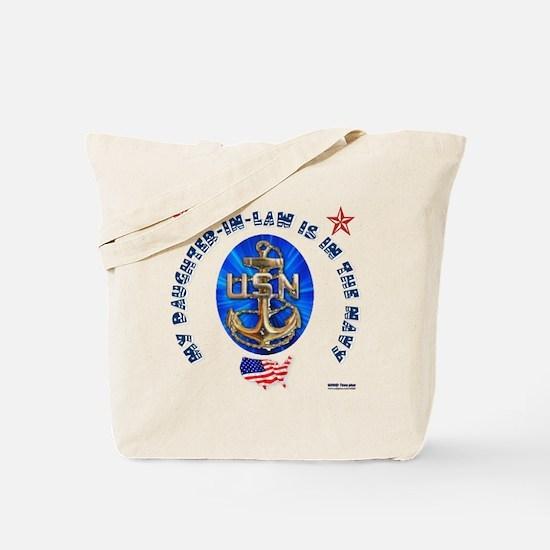 Navy Daughter-In-Law Tote Bag
