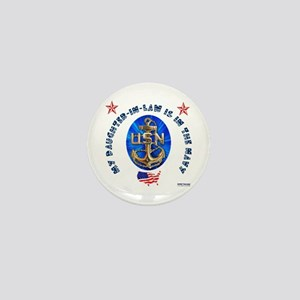 Navy Daughter-In-Law Mini Button