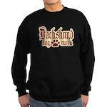 Dachshund Mom Sweatshirt (dark)