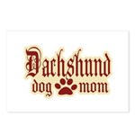 Dachshund Mom Postcards (Package of 8)