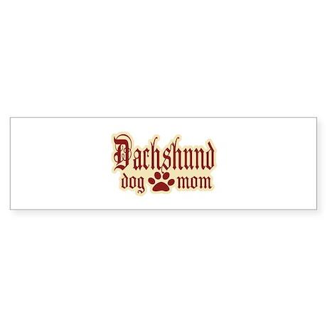 Dachshund Mom Sticker (Bumper 50 pk)