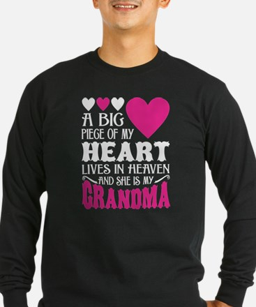 My Heart Lives In Heaven And H Long Sleeve T-Shirt