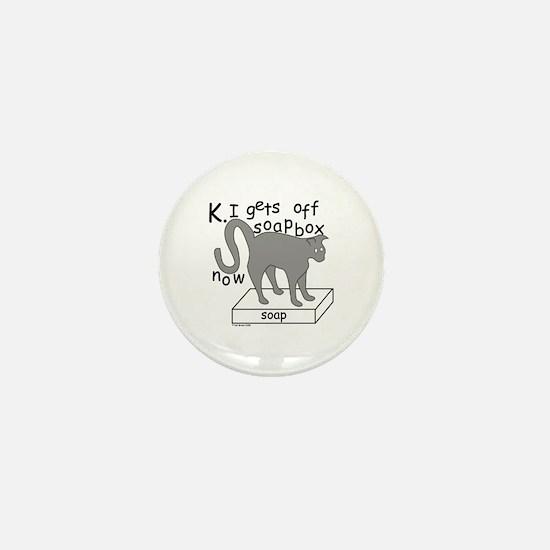 Soapbox Kat Mini Button