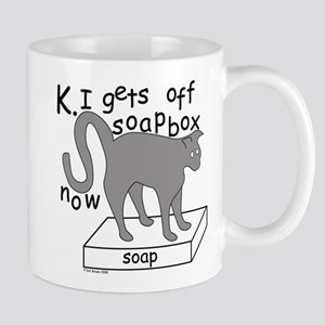Soapbox Kat Mug