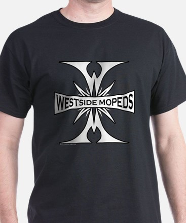 Westside Mopeds Black T-Shirt