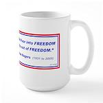 Legislating Freedom Large Mug