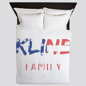 Kline Family Queen Duvet