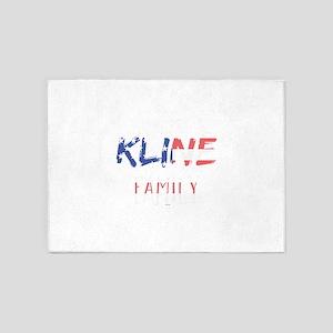 Kline Family 5'x7'Area Rug