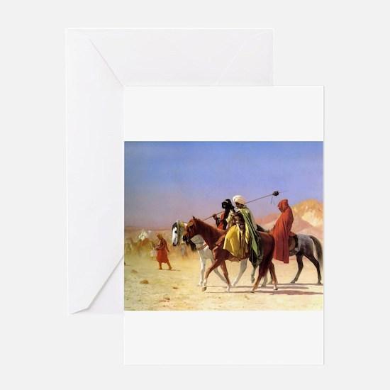 Camel art Greeting Card
