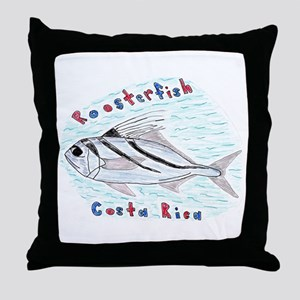 Roosterfish Throw Pillow