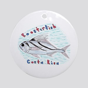 Roosterfish Ornament (Round)