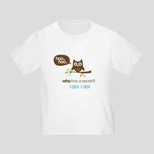 big sister to be shirts owl Toddler T-Shirt