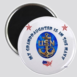 Navy Granddaughter Magnet